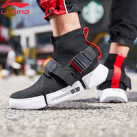 Li Ning Men ESSENCE 2 BUCKLE UP Basketball Culture Shoes LiNing li ning Breathable Sport Shoes Fitness Sneakers AGBP051 YXB316