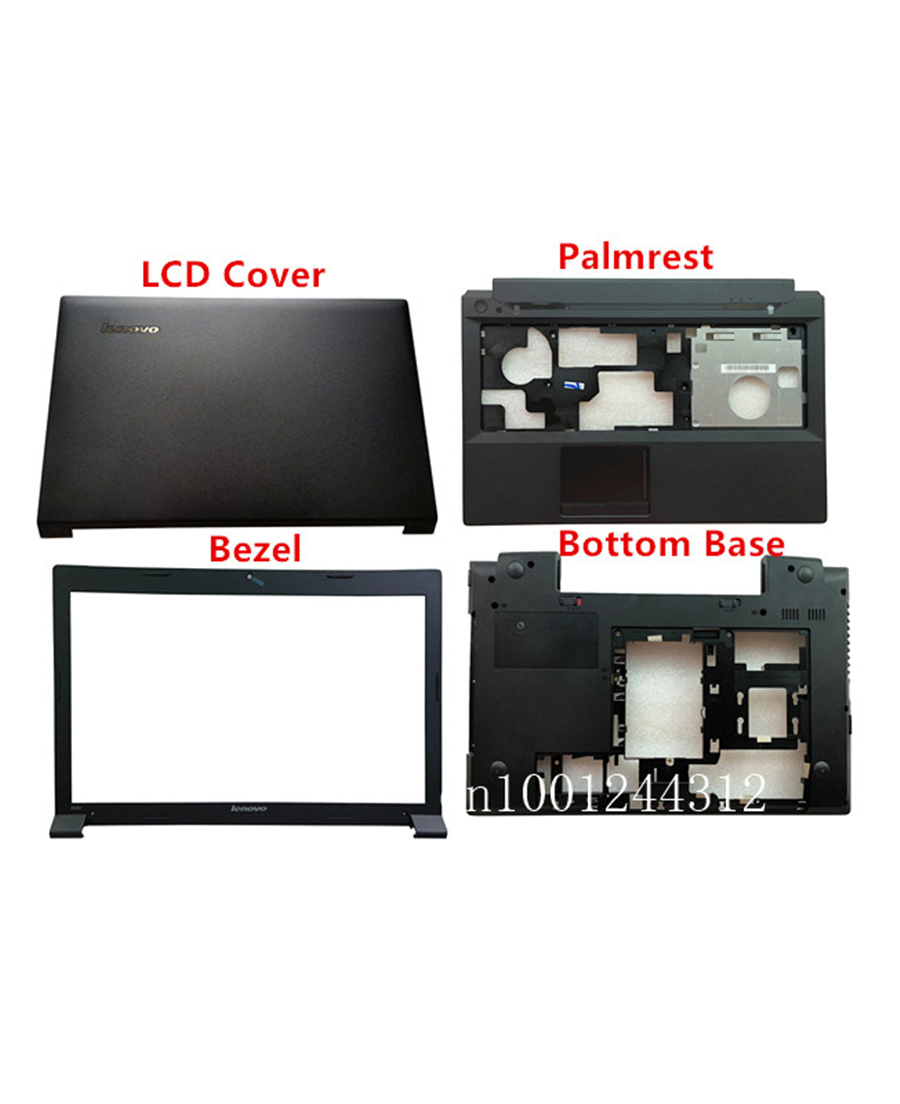 New Original For Lenovo B590 LCD Rear Top Lid Back Cover / Bezel /  Palmrest / Bottom Base 90201909 90201910 90201912 90201907