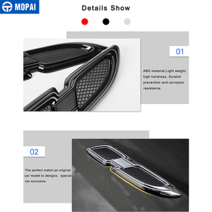 Image 4 - MOPAI Car Stickers for Jeep Grand Cherokee Car Body Air Flow Vent Cover Fender Engine Cover for Jeep Grand Cherokee Accessories