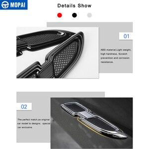 Image 4 - Mopai車のステッカージープグランドチェロキー車体エアフローベントカバーフェンダーエンジン用ジープグランドチェロキーアクセサリー