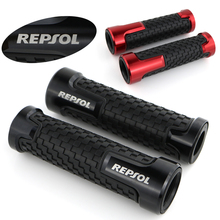 For Honda CBR 125R CBR250R CBR300R CBR500R CBR600RR CBR900RR CBR929RR Handlebar Handle Grips CNC Aluminum None-Slip Rubber