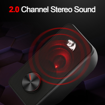 Redragon Stentor GS500 aux 3.5mm stereo surround music smart speakers column sound bar computer home PC notebook TV loudspeakers 2