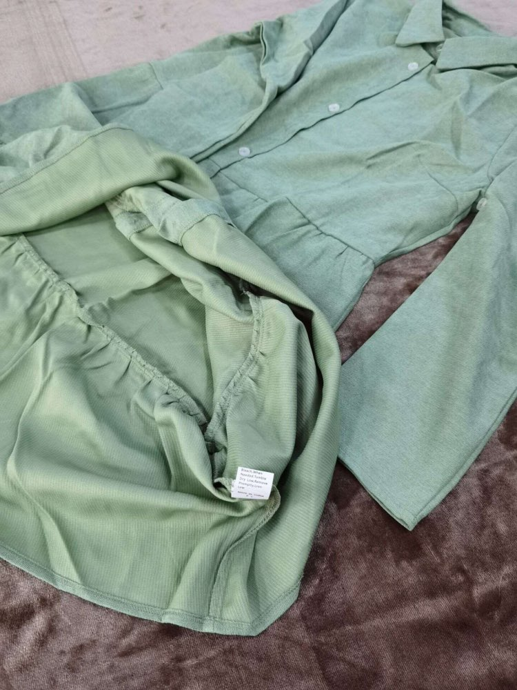 Autumn Winter Casual Single Breasted Solid Dress Women Turn Down Collar Straight Half Sleeve Shirt Dress 2020 New
