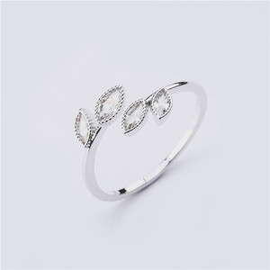 Image 4 - Rings For Women Females Jewelry Accessory Bridal Wedding Engagement Promise Gift Adjustable 2020 New Design Gold Silver Color