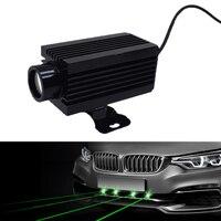 100M Car LED Fog Lamp Infrared Strong Light Truck Radium Lamp Spotlight Refit Decoration General Warning Light