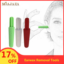 1Pcs Silicone Soft Ear Pick Earwax Removal Tools Earpick Cleaning Tool Random Co