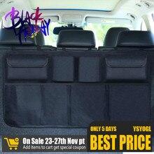 Storage-Bag Seat Car-Trunk-Organizer Automobile Universal Oxford Net Multi-Use Adjustable