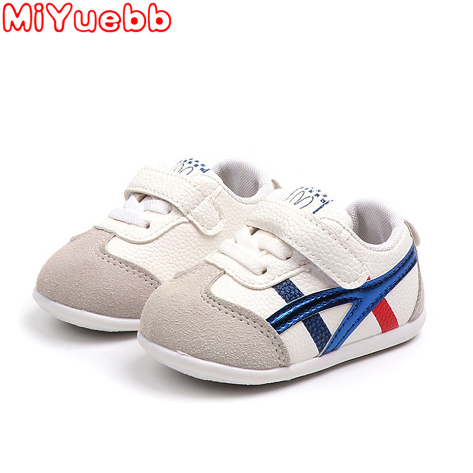 Kids Sneakers 2020 New Brand Baby Toddler Stripe Boy Shoes Kids Shoes For Girl Comfortable Sports Outdoor Children's Sneakers HH