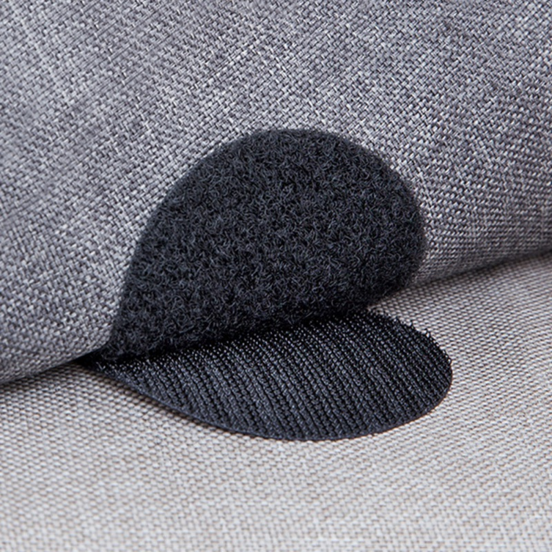Carpet Gripping Stickers Double Sided Hook And Loop Adhesive Fabric Mounting Tape Sticky Pads For Couch Cushion Rug Sheet Holde