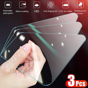3Pcs Protective Glass on the For Honor 9X 9A 9C 9S Tempered Screen Protector Honor 8X 8A 8C 8S 20S 30S V10 V20 V30 Glass Film(China)