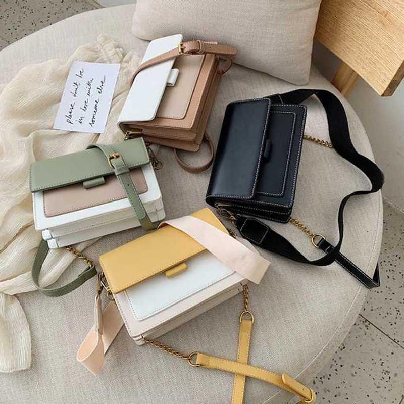 HOCODO 2019 Novos Sacos Crossbody de Couro Para Mulheres bolsa de Ombro Mensageiro Saco de Mini Mulheres Bolsa de Viagem Simples Senhoras Cruzar Saco de Corpo