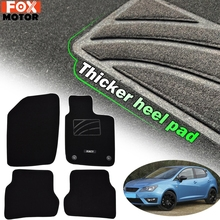 Carpets Car-Floor-Mats Seat Ibiza MK4 for 6J 6P Front-Rear-Protector 2009 4x