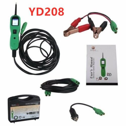 Meilleur prix YD208 testeur de Circuit de voiture Super puissance sonde systèmes électriques outil de Diagnostic YD 208 automobile comme Autel pt150, ps10