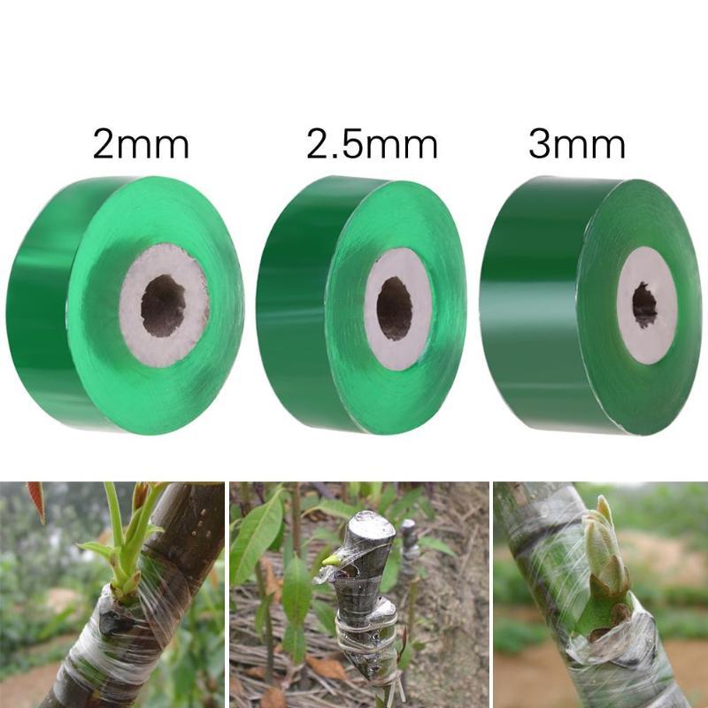 2/2.5/3cm Grafting Tape GardenGrafting Tape Garden Tools Fruit Tree Secateurs Engraft Branch Gardening Bind Belt PVC Tie Tape