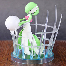 Gardevoir شخصيات كرتونية تمثال نموذج لعب الملكة Gardevoir دمى شخصيات الحركة لعب هدايا للفتيات الاطفال