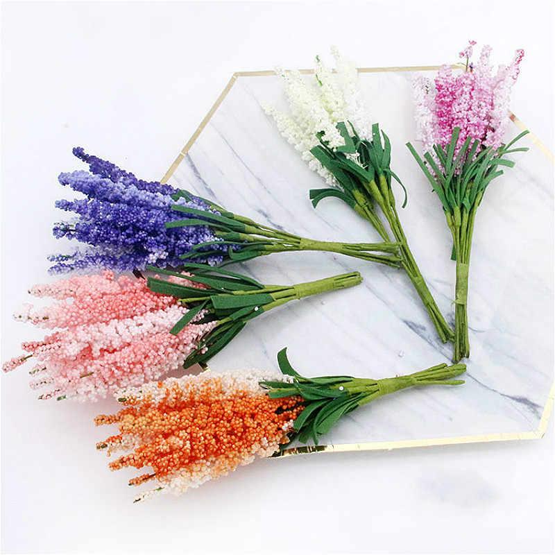 DCM 5/10 bricolage à la main bouquet matériel en gros PE fumé primevère jacinthe simulation bouquet à la main décoratif fleurs @ 6