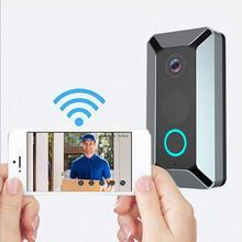 V6 Smart Wireless WiFi Doorbell Ring Video 720P Video Camera Waterproof Home Sec