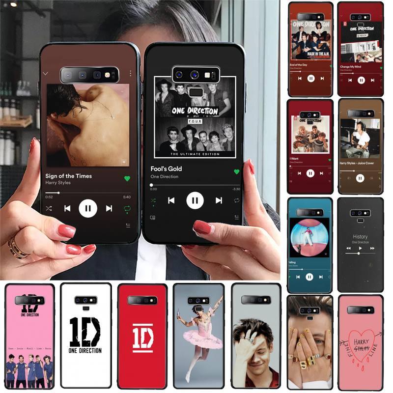 TOPLBPCS One direction Harry Styles Album song Phone Case For Samsung Galaxy a50 A30S A50S a71 70 a10 case samsung a51 case Capa