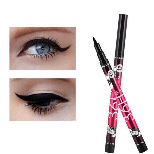 Women 36H Black Waterproof Liquid Eyeliner Make Up Beauty Comestics Long-lasting Eye Liner Pencil Makeup Tools for eyeshadow 3