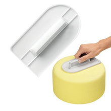 Plastic Cake Smoother Polisher Tools Decorating Fondant Sugarcraft Spatulas Baking Kitchen Tool