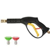 Alta Pressão Rápida Plug-In Gunwith Criança Spray de Água da Lavagem Do Carro Ferramenta de Mão de Bloqueio Acessórios