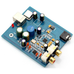 Image 4 - HIFI ES9018K2M SA9023 USB DAC מפענח לוח חיצוני כרטיס קול תמיכה 24Bit 92k עבור אודיו מגבר מודול