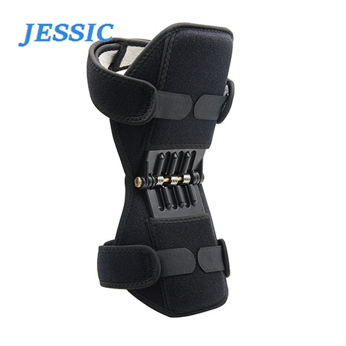 JESSIC Joint Support Knee Pads Breathable Non-slip Lift  Powerful Rebound Spring Force Knee Booster