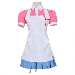 Image 2 - Dangan Ronpa 2 Danganronpa Mikan Tsumiki Dress Cosplay Costume Set for women girls