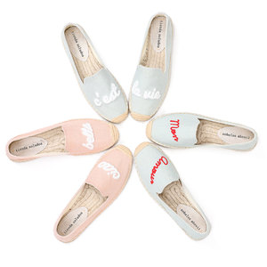 Image 4 - Tienda Soludos Espadrilles Fashion Womens Flats Shoes Flat 2019 Zapatillas Mujer Casual Sapatos With Cool Thick soled Fisherman