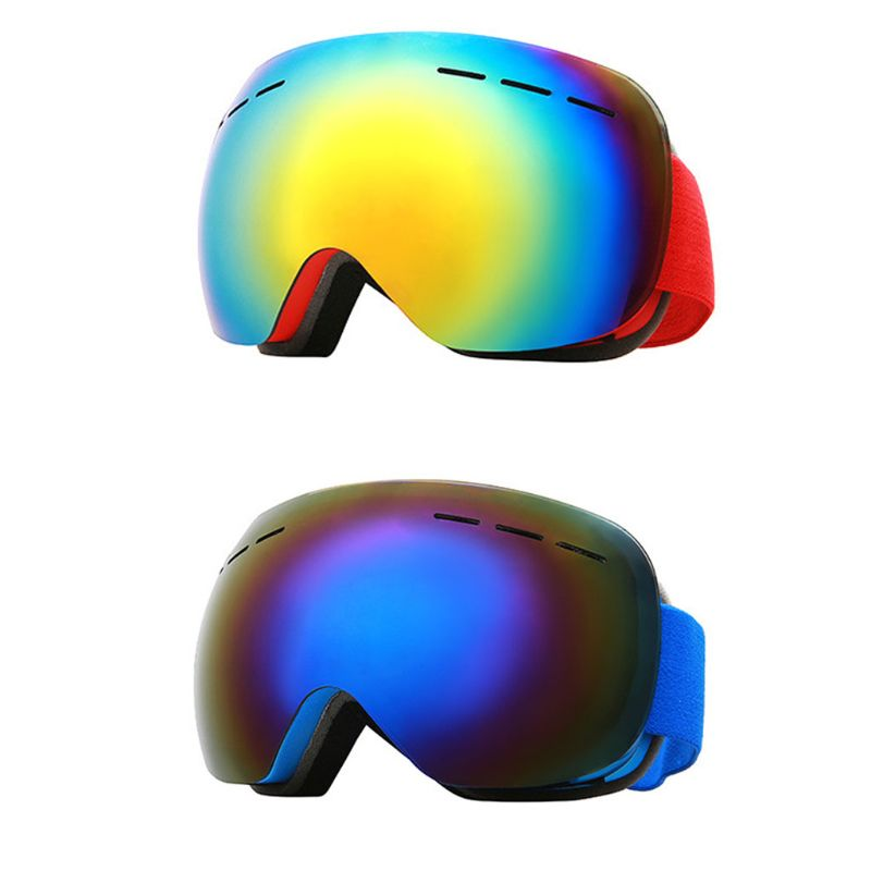 Professional UV Protection Ski Goggles Glasses Unisex Double Lens Goggles Lenses