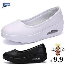 Damyuan/женские мягкие удобные туфли на плоской подошве; Новинка