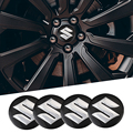 1 комплект автомобильных наклеек на колесо 56 мм, автомобильная Центральная крышка, наклейка, аксессуары для Suzuki Jimny Свифт Vitara Samurai SX4
