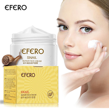 efero Snail Cream Face Cream Whitening Moisturizing Serum Face Care Anti Wrinkle Snail Cream for Face Lifting Acne Treatment efero snail essence repair face cream moisturizing whitening anti wrinkle acne treatment firming lift snail cream for face care