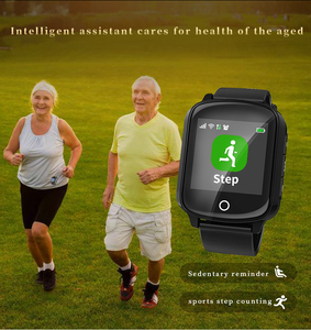 Image 5 - D200 D200SE Smart Watch GPS Tracker Locator for Elder Women Men Smartwatch with Fall protection Heart Rate Blood Pressure SOS