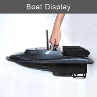 Flytec V007 Fishing Nesting Fixed Speed Cruise Yaw Correction Ship Strong Wind Resistance LED RC Boat Searchlight Outdoor Toys