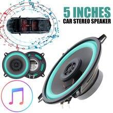 5 polegadas 100 w de alta fidelidade 90-20000 hz carros chifre gama completa freqüência coaxial alto-falante áudio auto estéreo 2way carro VO-502 música