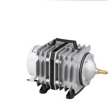 цена на Fish pond aquarium fish tank external aerator oxygen pump 105w electromagnetic air pump