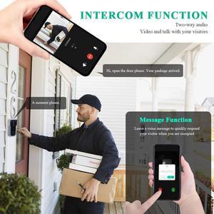 Image 4 - Onvian WiFi Türklingel Kamera Wasserdicht 1080P HD Video Tür Glocke Motion Detektor Smart Wireless Türklingel mit Kamera Nachtsicht