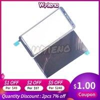 Wyieno para bq 5518g jeans display lcd tela de toque do painel sensor peças reposição + rastreamento