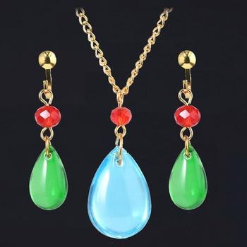 SG, nuevo collar con castillo móvil de Animado de Japón, collar de disfraz de aullido, collar de moda para hombres y mujeres, regalo de joyería