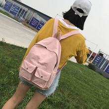 2019 New Fashion Women Backpack School Bag for Teenage Girls Preppy Style Travel Large Capacity Laptop Female Backpack fashion women velvet backpack designer high quality female backpack female casual style travel school bag for teenage girls new