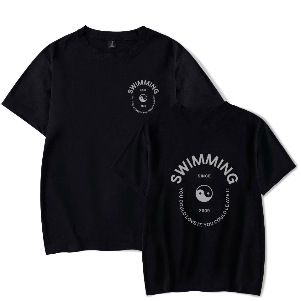 Mac Miller Swimming Tai Chi Print T-shirt  1