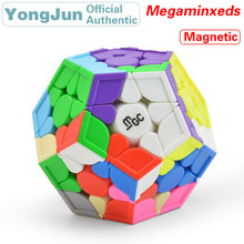 YongJun MGC Magnetic 3x3x3 Megaminxeds Magic Cube YJ 3x3 Dodecahedron Magnets Speed Puzzle Educational Toys For Children все цены