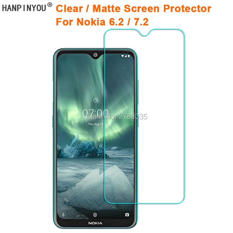 For Nokia 6.2 / 7.2 Clear Glossy /Anti-Glare Matte Screen Protector Protective Film Guard (Not Tempered Glass)