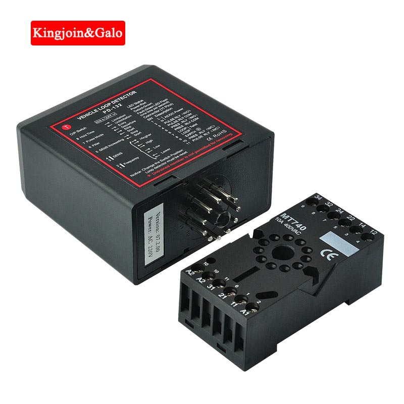 KJ&Galo 5PCS Per Lot AC220V Ground Sensors Traffic Inductive Loop Vehicle Detector Signal Control Vehicle Loop Detector