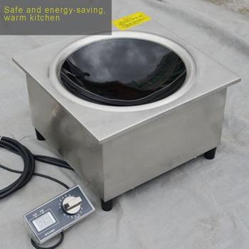 Embedded Konkaven Kommerziellen Elektromagnetische Ofen 3500 W/5000 W Induktionsherde    -