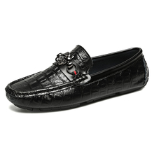 Men for loafers shoes leather shoes black leather loafers men shoes casual loafers shoes for men