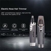 Nose Trimmer Clipper Shaver Ear Trimmer Hair Remover Men AA Battery Shaving Trimmer For Nose Ear Trimer Cutting Machine 23 2