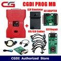 CGDI Prog MB для Benz  поддержка всех ключей  потери  быстрый  добавьте ключ с адаптером ELV  симулятором  адаптером переменного тока и EIS ELV  оригиналь...