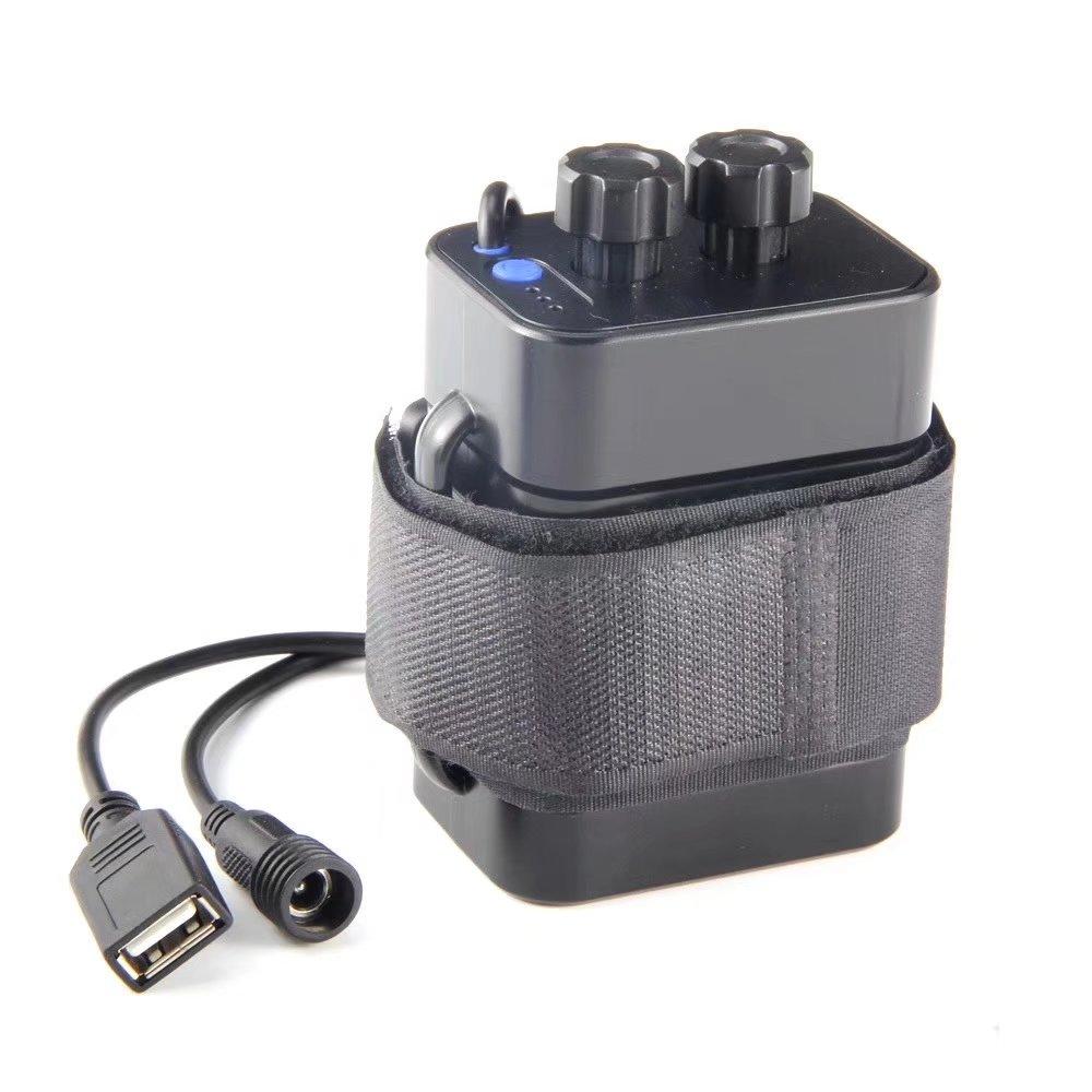 Waterproof Power Bank 6x18650 Battery Storage Case Box Holder For Bike LED Light